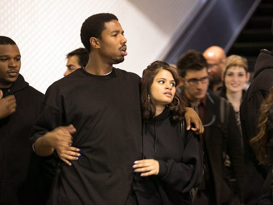 'Fruitvale Station' tells the true story of Oscar Grant (Michael B. Jordan), a black man shot by a white police officer on New Year's Eve 2008.