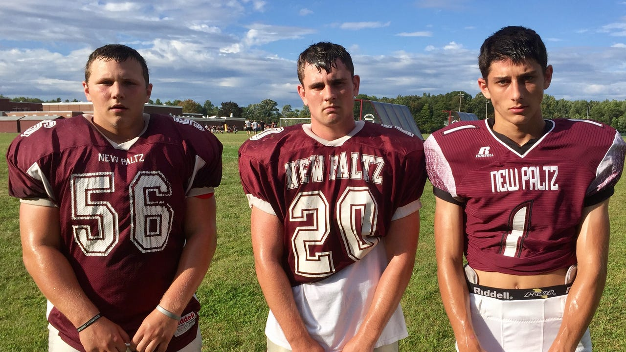 The New Paltz football team discusses its hot start to the season, the dynamic between cousins Jimmy and Kenny Verney, and how basketball star Axel Rodriguez ended up on the football field.