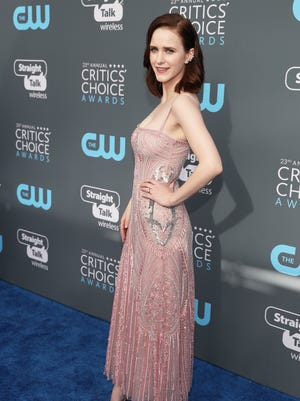 Rachel Brosnahan ditched black for the Critics' Choice Awards.