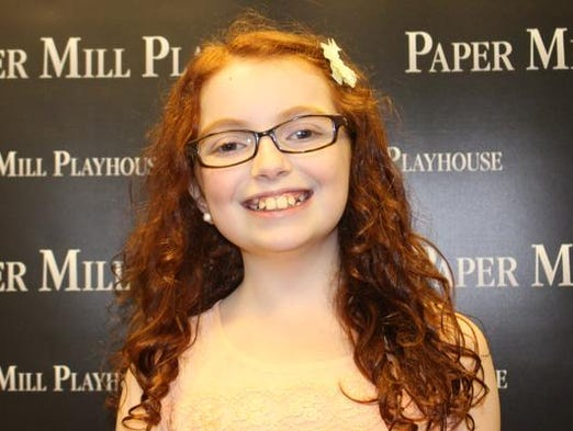 Anna McCarthy of Madison is one of 13 Morris County Summer Musical Theatre Conservatory students who will participate in the annual Paper Mill Playhouse New Voices concerts next month in Millburn.
