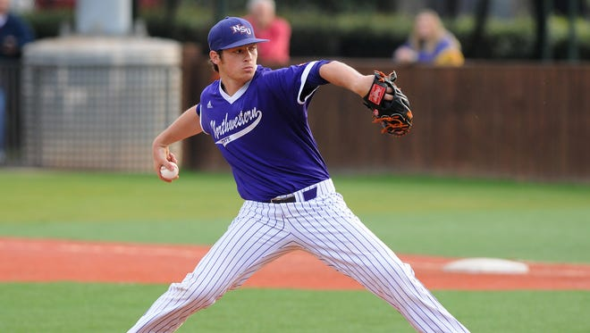 Northwestern State's Adam Oller is a first-team preseason All-SLC selection.