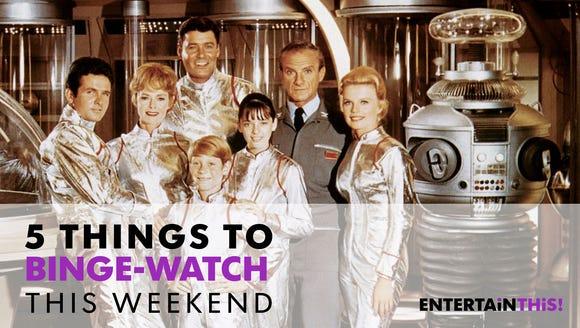"Get ""Lost in Space"" this weekend."