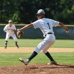 Spackenkill's Josh Rosario winds up for a pitch during Monday's game against Highland.
