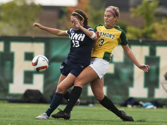 New Hmapshire vs. Vermont Women's Soccer 10/01/15