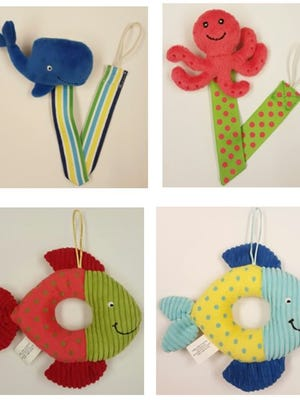 Little Wishes Summer Plush Pacifier Holders are being recalled.