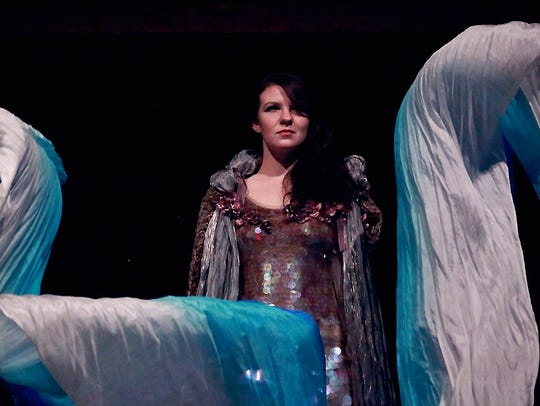 Amanda Pease plays the mermaid Rusalka in the Lesser-Known
