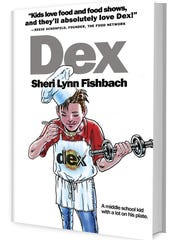 "The book cover of ""Dex,"" Sheri Lynn Fishbach's new young adult novel."