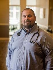 Dr. Ty Babcock is one of the seven emergency room doctors