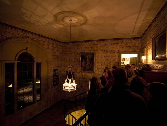 Ghost tours will be held Oct. 25-27 in the dimly lit