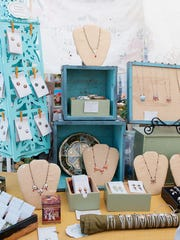 Clover Market offers antique and handmade jewelry and other items.