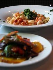 Lobster shrimp fettuccini, a signature pasta dish at