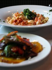 Dishes from The Other Side Bistro, one of JLB's favorite Bonita Springs restaurants.