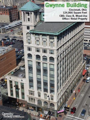 The Gwynne Building, a former headquarters for the Procter & Gamble Co., is up for sale. Current tenants include the Southwest Ohio Regional Transit Authority.