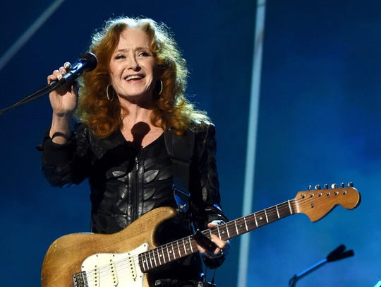Bonnie Raitt opens for friend and fellow Rock and Roll