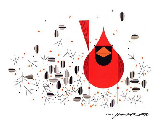 Charley Harper is just one of the artists whose work will be on exhibit and for sale at the Mid-Century Modern Art Exhibition at Mary Ran Gallery in Hyde Park.