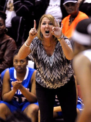 Chris Godwin is back for another turn as the Pine Forest girls basketball head coach.