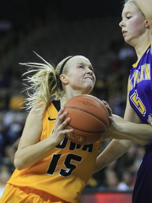Iowa's Whitney Jennings, the fifth leading-scorer in Indiana prep history, is averaging 9.4 points per game just five games into her college career.