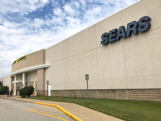 The Sears store in Lafayette is entering its final