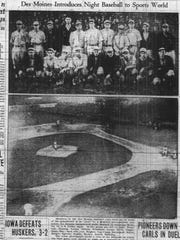 On Sunday, May 4, 1930, The Des Moines Register published