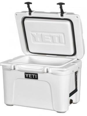 17-pound Yeti Tundra 35 cooler.