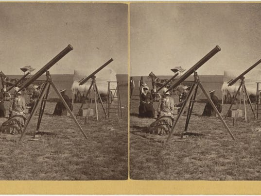 Eclipse viewing 1878