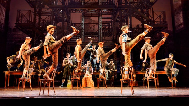 """""""Newsies"""" will continue its run at the Fox Cities Performing Arts Center in Appleton through Sunday."""