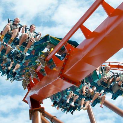Thunderbird rises at Holiday World Theme Park