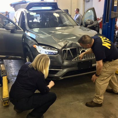 Uber disabled emergency brakes on self-driving car prior to fatal crash, NTSB says