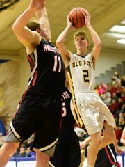 Old Fort senior Hootie Cleveland was selected for the boys all-News-Messenger team.