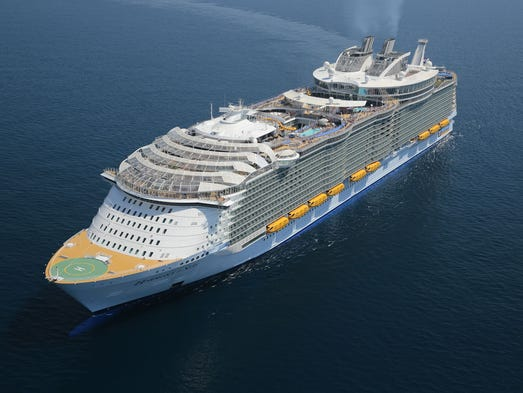 Our Guide To The Hottest New Cruise Ships On Order - List of largest cruise ships