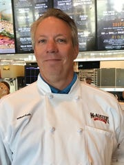 William Eudy is the corporate executive chef for McAlister's