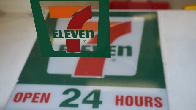 Fourteen 7-Elevens in the Dallas area will start using scan-and-go technology, the company announced Monday.