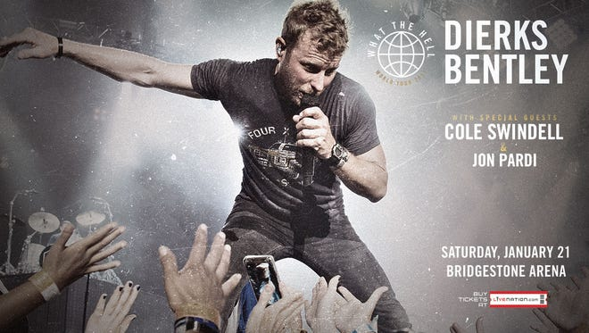 Insider access to advance tickets to Dierks Bentley with special guests Cole Swindell and Jon Pardi.