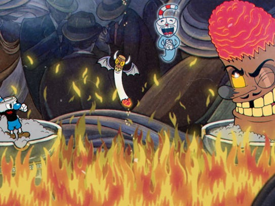 Cuphead, PC and Xbox One.