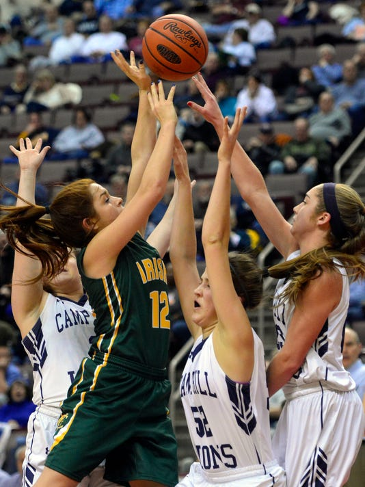 PHOTOS: York Catholic vs Camp Hill girl's District 3-AA championship