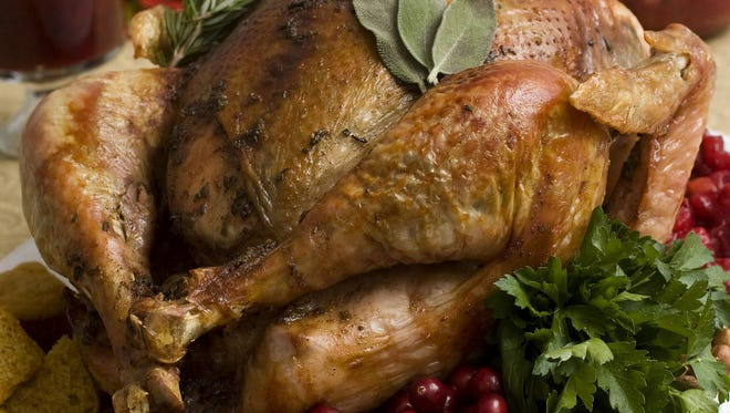 A Thanksgiving turkey.