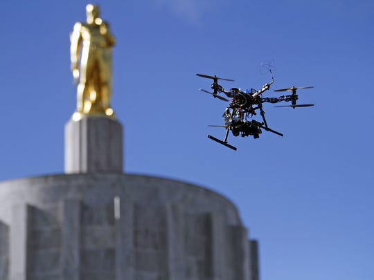 See an exhibit of drone photography noon to 4 p.m. Saturday, Dec. 19, at the Reed Opera House.