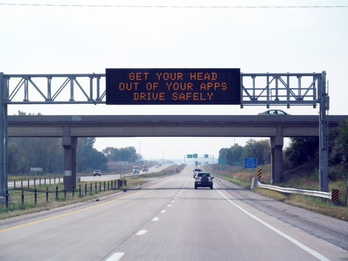 Iowa S 10 Funniest Message Monday Road Signs