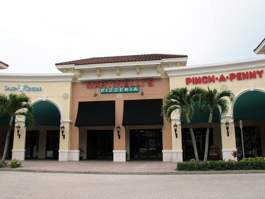 Martinelli's Pizzeria closed June 28 after operating for five years in The Brooks Town Center on Coconut Road in Estero.