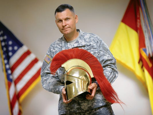Lt. Col. Randy Gillespie is the new commander of Headquarters and Headquarters Battalion, 1st Armored Division.
