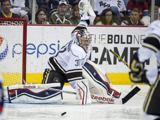 Goaltender Philipp Grubauer re-signed with the Washington Capitals on a two-year, one-way contract, the team announced Monday.