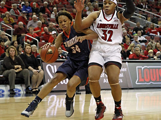 UT Martin forward Ashia Jones was the Ohio Valley Conference