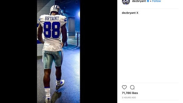 Dez Bryant lashes out after his cryptic Instagram post fueled Cowboys rumors