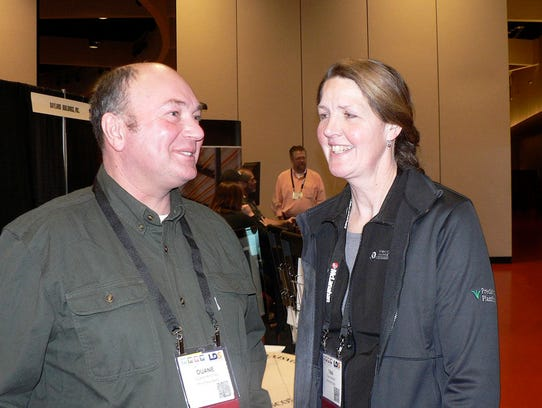 Duane and Tina Hinchley, Cambridge are planning a new