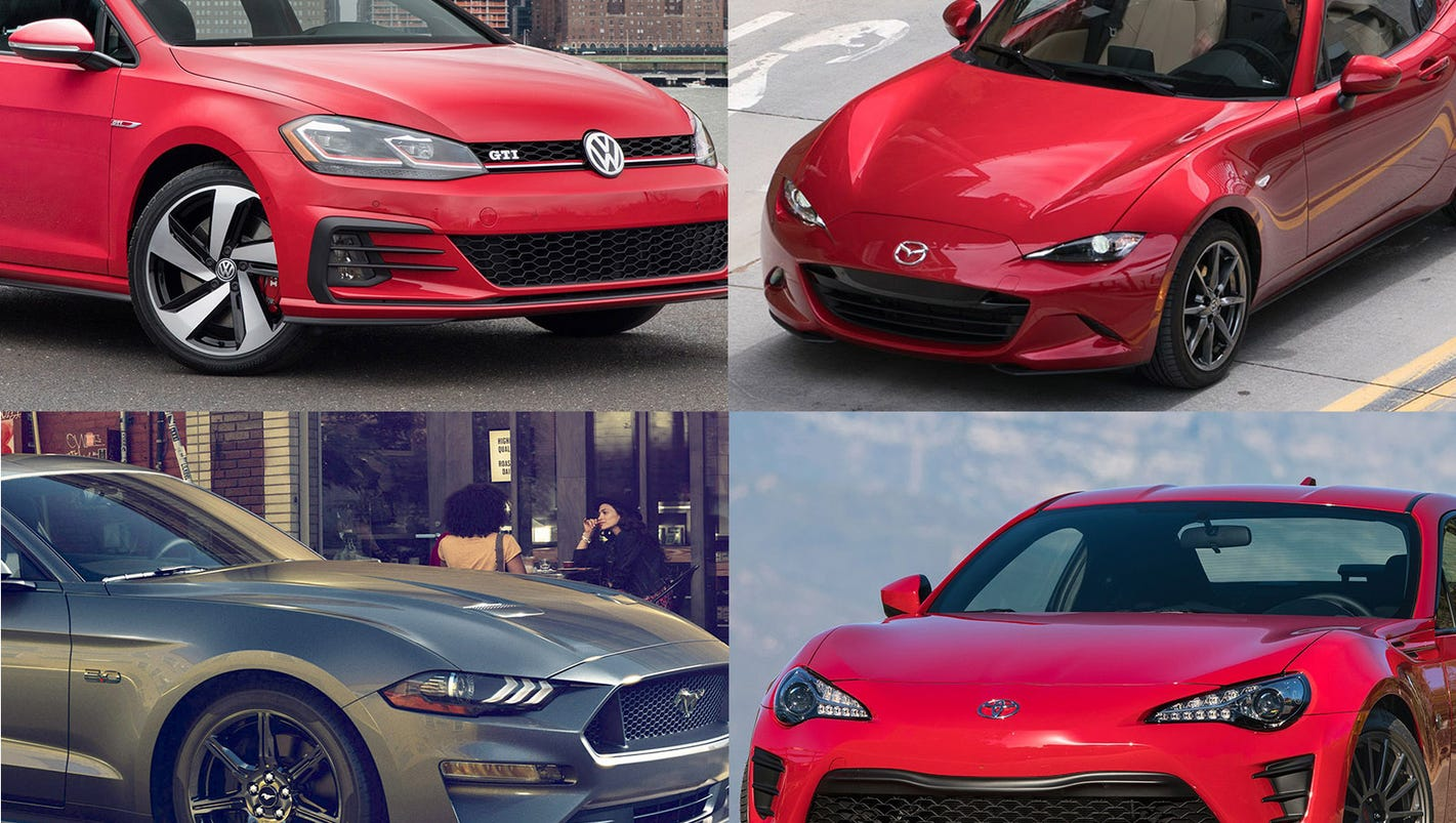 Best Affordable Stick Shift Cars