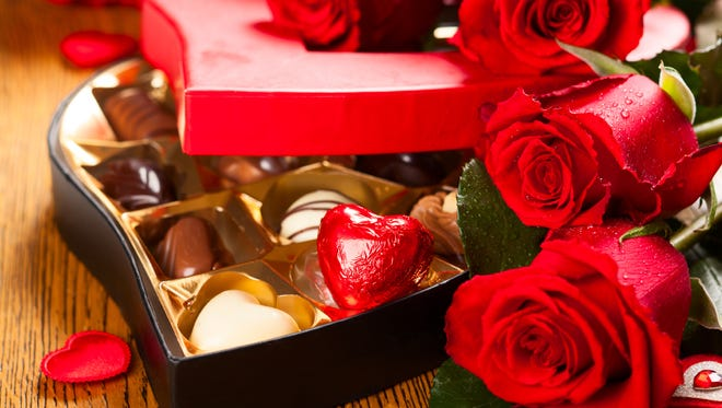 Chocolate is considered the food of love and romance.