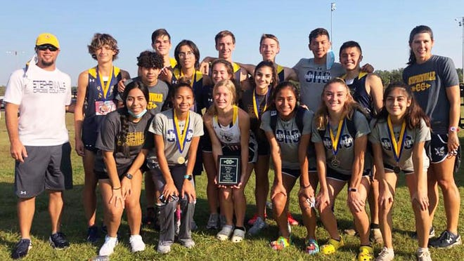 Stephenville High School's cross country teams placed first in the varsity girls division and second among the boys Wednesday in the annual Thrill of the Hill event at the Stephenville City Park.