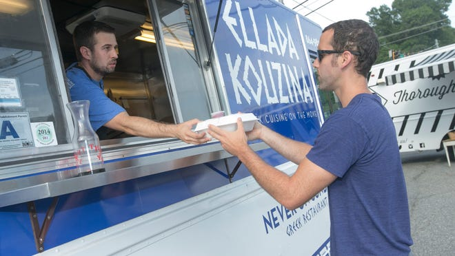 The number of food trucks in Greenville is growing right along with the restaurant scene.