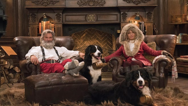 """""""The Christmas Chronicles: Part Two,"""" a sequel to the 2018 Netflix picture, debuts Wednesday."""