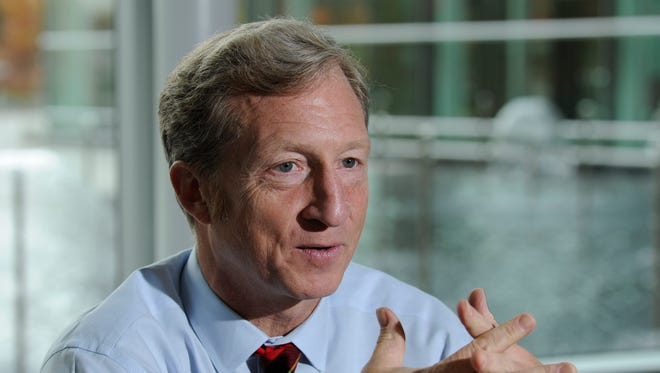 Tom Steyer, a billionaire environmentalist, was the biggest donor to super PACs in 2013.